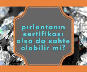 taş sertifikası ile mücevher sertifikası