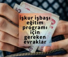 işkur işbaşı eğitim programı başvuru formu 2018