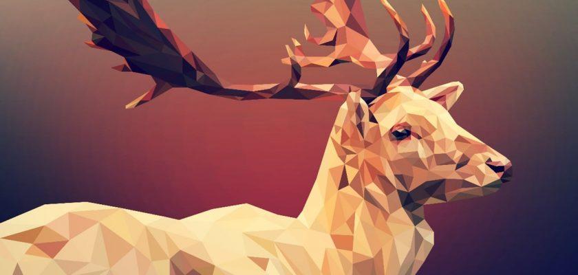 Deer head polygon 1