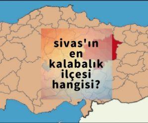 sivas ilçe nüfusu 2018