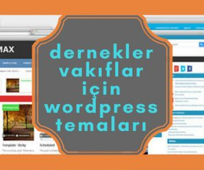 wordpress dernek teması ücretsiz indir