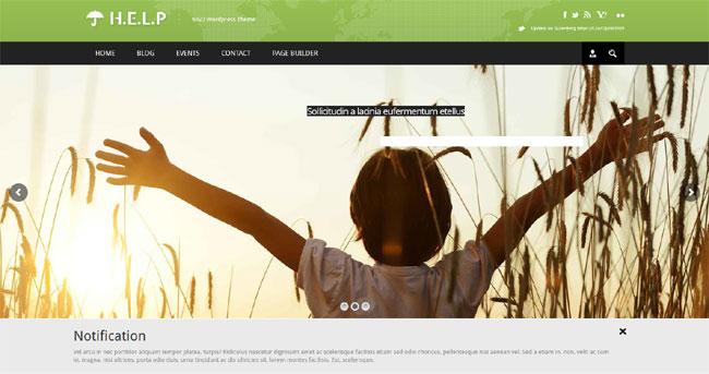 hayır kurumları - dernekler ve vakıflar için wordpress temaları 6